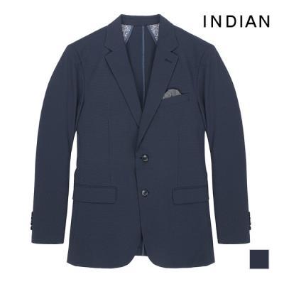 [INDIAN] 믹스얀 체크 패턴 싱글 자켓_MITFUTM4209