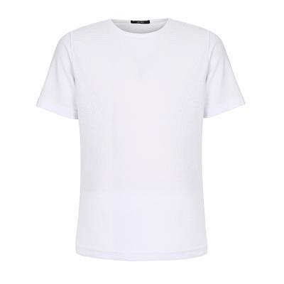 남성 텍스쳐드 패브릭 티셔츠(HU4ST31)
