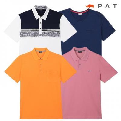 ★추가세일★[PAT 남성]균일가 인기 티셔츠 스타일 10종택일