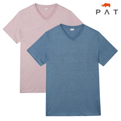 [PAT 남성]기본 슬럽 브이넥 티셔츠_QF35351