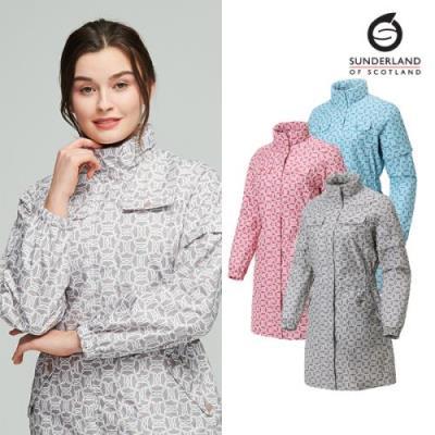 선덜랜드 여성 체인프린트 비옷 - 16152RC63