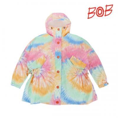 BOB 여성 프린트 오버핏 비옷/레인웨어 - GBS2JR510_PI