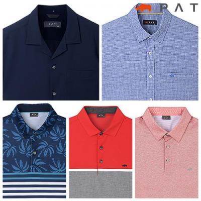 [PAT 남성]균일가 코디 걱정 없는 티셔츠/셔츠 20종 택일