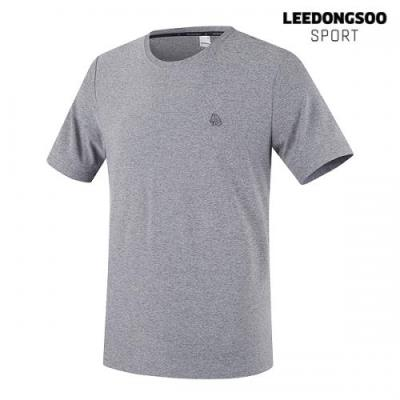 이동수 골프웨어 남성 반팔 티셔츠 그레이 H9BTS4510-E1