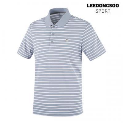 이동수 골프웨어 남성 반팔 피케 티셔츠 그레이 H9BTS3530-E1