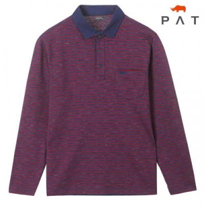 [PAT 남성]투톤 스트라이프 티셔츠_1F55103
