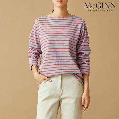 세인트 스트라이프 티셔츠_MKF1TS6510