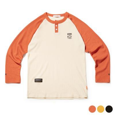레글런 와플 티셔츠 3Color (DEF6TS5520)