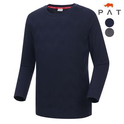 [PAT 남성]자카드 긴팔 티셔츠_QD15301