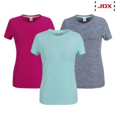 [JDX] 여성 그래픽 포인트 라운드 티셔츠 3종 택1 (X3QMTSW91)