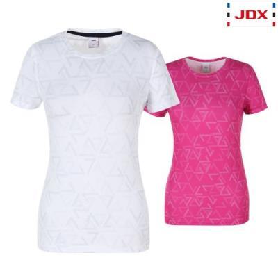 [JDX] 여성 여름 삼각DTP 라운드 티셔츠 2종 택1 (X3QMTSW57)