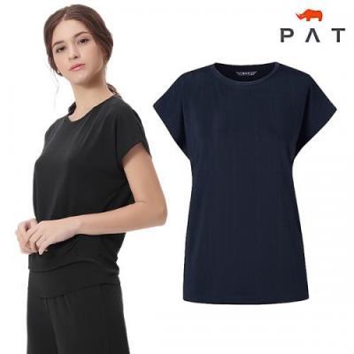 [PAT여성]주름 드랍 숄더 티셔츠_QF45981