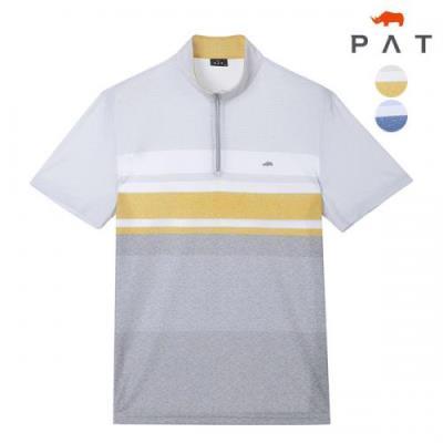 [PAT 남성]반집업 프린트 티셔츠_1F35404