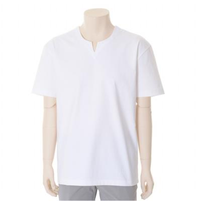 변형 라운드넥 트임 티셔츠 (BST2KF22A)