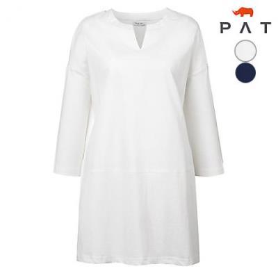 [PAT여성]롱 기장 플레인 셔츠_QC41553