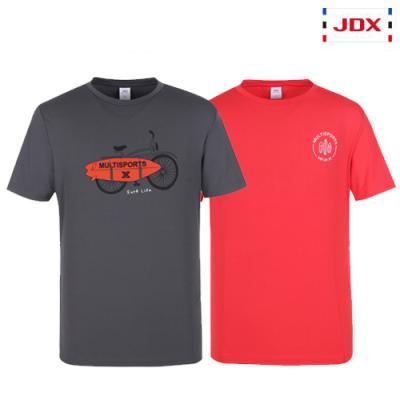 [JDX] 남성 여름 그래픽포인트 라운드 티셔츠 3종 택1 (X3QMTSM32)