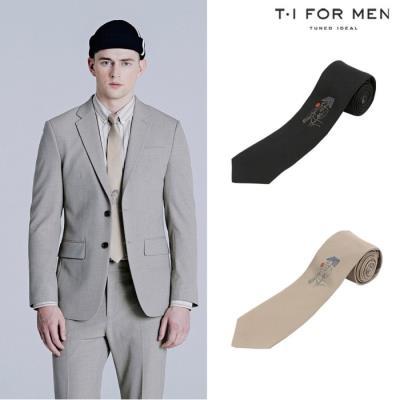 [티아이포맨] [T.I FOR MEN X 권철화] 아트웍 원포인트 타이_M200MCR502M