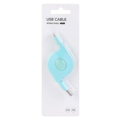 [미니소] 2.1A C타입 USB 케이블 1m 민트 2006872312102