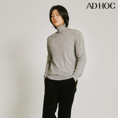 남녀공용 캐시미어 터틀넥 스웨터(HUALK90)