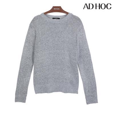 여성 심플 라운드 스웨터(HTBLK72)