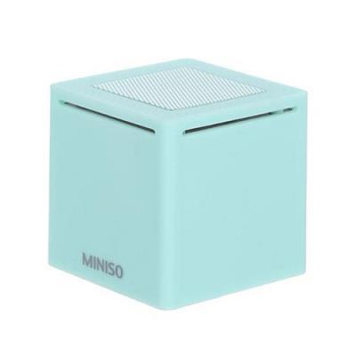 [미니소] 미니 큐브 블루투스 스피커 M20 민트 0500017861