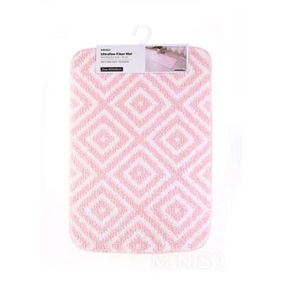 [미니소] 다이아몬드 패턴 매트 핑크 0300012041
