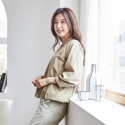 엄마옷 마담4060 베이직데일리점퍼-QJP105002-
