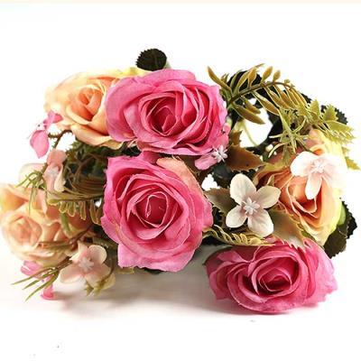 Flower 6 ROSE 부쉬 조화 5color 32x17cm CH1696836