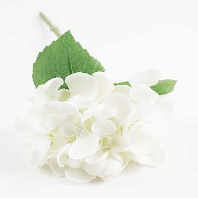 Flower 수국가지 조화 화이트 30x15cm CH1696834