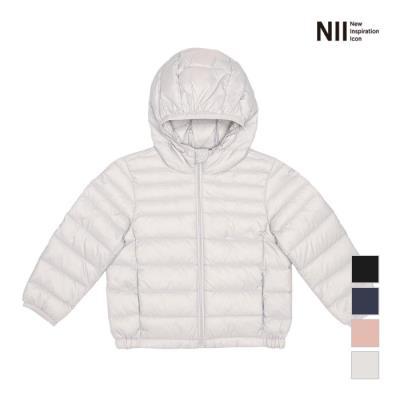 [NII] 아동 후드 경량 다운 점퍼_NNKCDVW9101