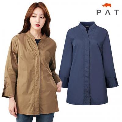 [PAT여성]중기장 아우터형 셔츠_QE61501