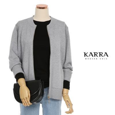 KARRA 램스울니트집업점퍼_KB1FJP015C