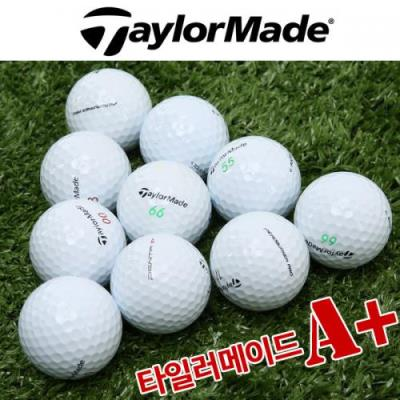 [테일러메이드] TAYLORMADE 3피스 로스트볼/골프공★A+등급/10알 구성_101744