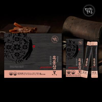 흑삼과 홍삼의 환상의 조합 흑홍삼 프리미엄 10ml 30포/선물세트/명절선물
