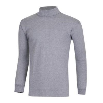 남성 간절기 베이직 무지 이너웨어 목폴라 티셔츠 IU-TSW-Q002-그레이