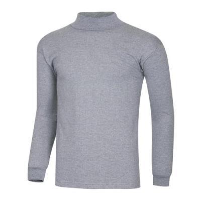 남성 간절기 베이직 무지 이너웨어 반폴라 티셔츠 IU-TSW-Q001-그레이