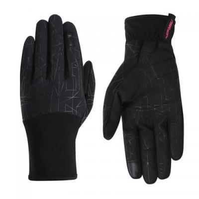 NSR 스파이더 라이트 방풍 글러브 자전거장갑 사이클 장갑 겨울장갑 블랙