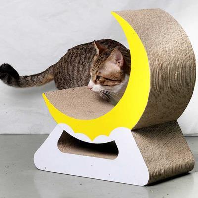스트레스 해소 고양이 초승달 스크래쳐CH1778891