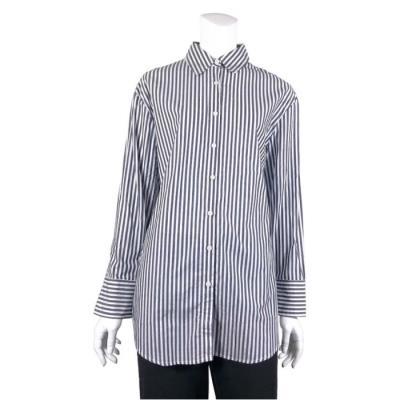 [카이아크만] 백 히든 프린트 셔츠(KPCSH646W0_NV)