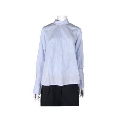 [카이아크만] 하이넥 카라 셔츠(KPASH627W0_SK)