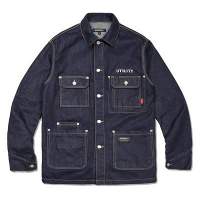 DENIM coverall utility jacket_DFS6JK1070
